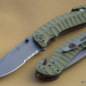 BROWNING DURATION LINERLOCK FOLDING TACTICAL RESCUE KNIFE WITH POCKET CLIP