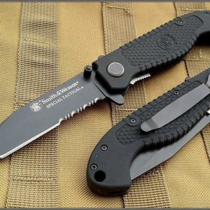 SMITH & WESSON SPECIAL TACTICAL FOLDING KNIFE 4.5 INCH CLOSED CKTACBS