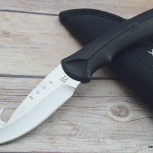 "BUCK ""BUCKLITE MAX"" FIXED BLADE HUNTING SURVIVAL KNIFE RAZOR SHARP MADE IN USA"