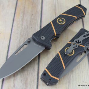 8 INCH BROWNING LONG HAUL LINER-LOCK FOLDING KNIFE WITH POCKET CLIP