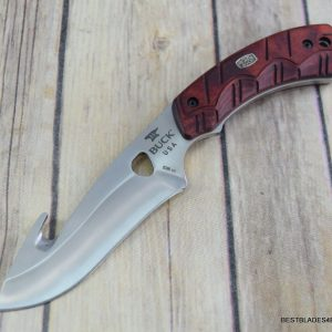 BUCK 536 OPEN SEASON® SKINNER GUTHOOK FIXED BLADE HUNTING KNIFE MADE IN USA