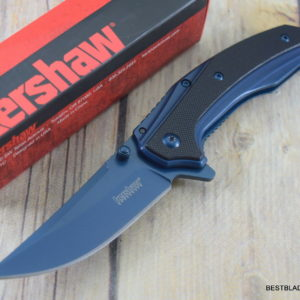 KERSHAW OUTRIGHT FRAME-LOCK SPRING ASSISTED KNIFE WITH POCKET CLIP