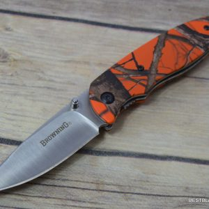 BROWNING EDC EVERYDAY CAMO FOLDING POCKET KNIFE WITH POCKET CLIP