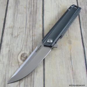 8.38 INCH BOKER MAGNUM ROSHI RAILS LINER-LOCK FOLDING KNIFE WITH POCKET CLIP