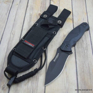 9.53″ ADVANCE PRO BOKER MAGNUM FIXED BLADE HUNTING KNIFE FULL TANG WITH SHEATH
