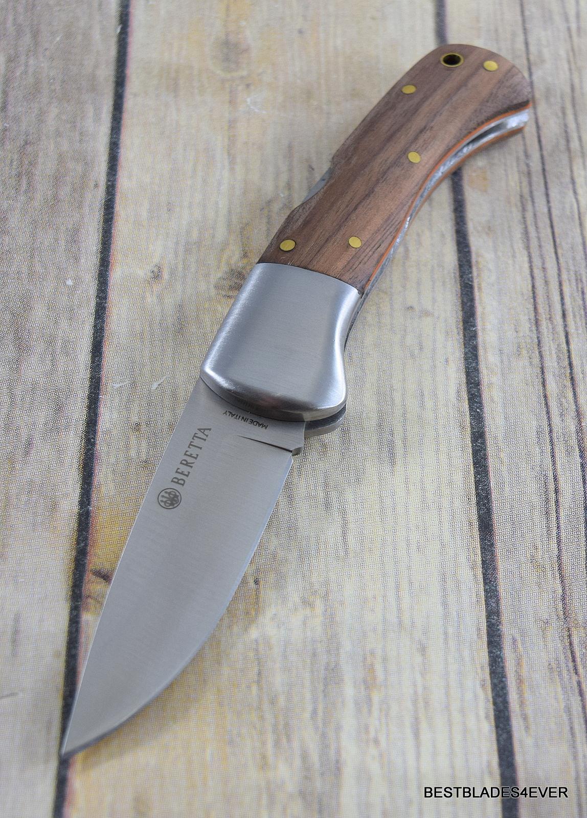 BERETTA REEDBUCK FOLDING KNIFE LOCKBACK RAZOR SHARP BLADE MADE IN ITALY
